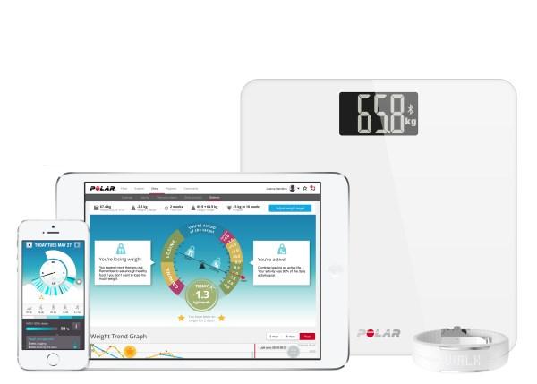 Gewichtsmanagement mit Polar Balance 6