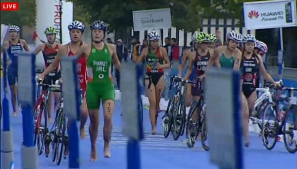 Auftakt des World Triathlon Grand Final in London 1