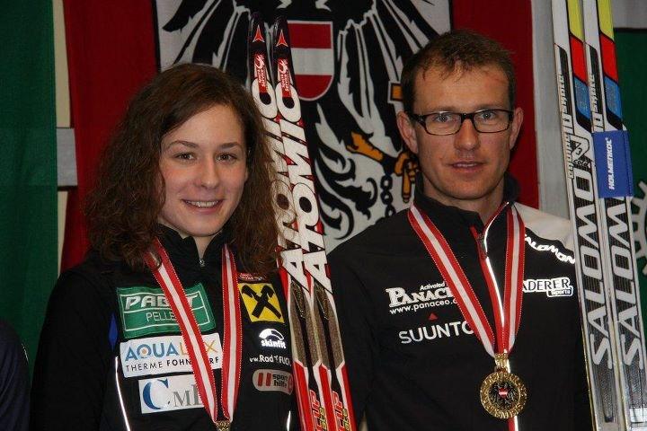 Slavinec und Rothberger neue alte Wintertriathlon Staatsmeister 7