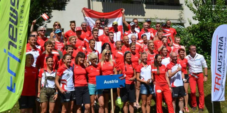 Ergebnisse aller Österreicher bei den Triathlon Europameisterschaften in Genf 1