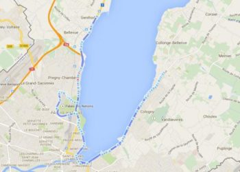 Streckenprofil der Triathlon Europameisterschaften in Genf 2015 5