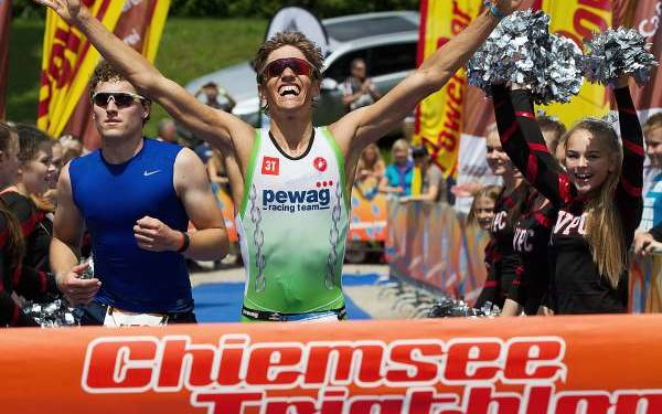 Steger siegt beim Chiemsee Triathlon 1