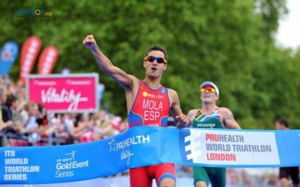 World Triathlon Serie mit letztem Stop in London 1