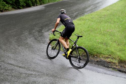 Luis Knabl optimiert sein Rad 1