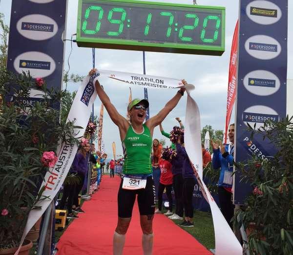 Polak und Swoboda neue Triathlon Langdistanz Staatsmeister 1