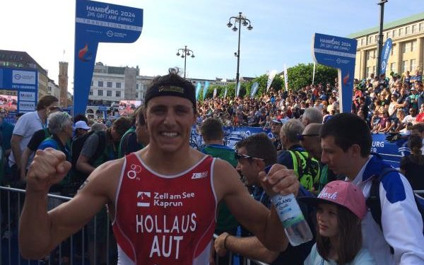 Interessante Wattspitzen beim ITU World Triathlon Serie Bewerb in Hamburg 1