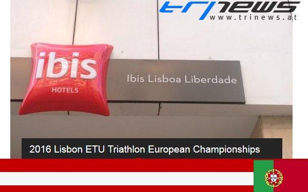 Österreicher Haus bei Triathlon Europameisterschaften in Lissabon 1