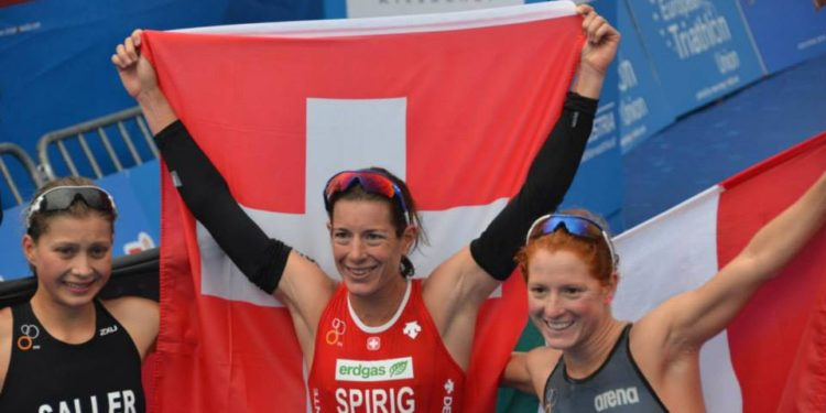 Olympiasiegerin Nicola Spirig startet beim IRONMAN 70.3 St. Pölten 1