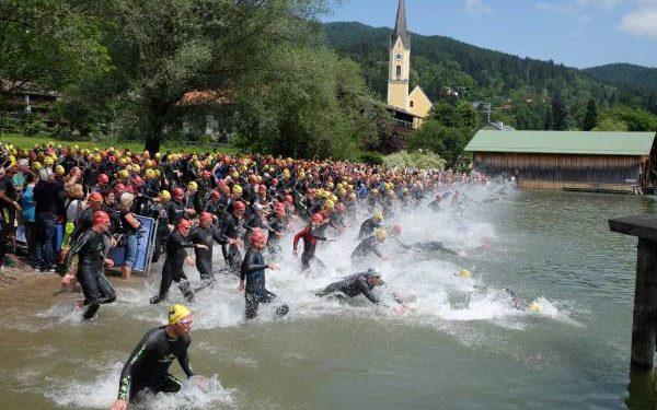 Steger siegt bei Schliersee Alpen Triathlon 1