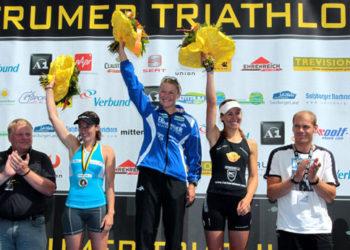 Trumer Triathlon verschenkt Badehauben 8