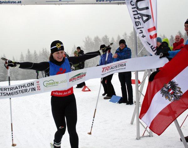 Slavinec holt Bronze bei Wintertriathlon Europameisterschaft 1
