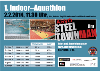 Österreichs erster Kinder Indoor Aquathlon in Linz 2