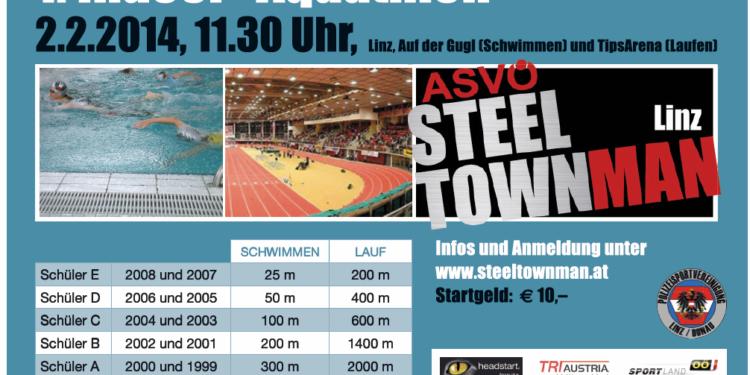 Österreichs erster Kinder Indoor Aquathlon in Linz 1