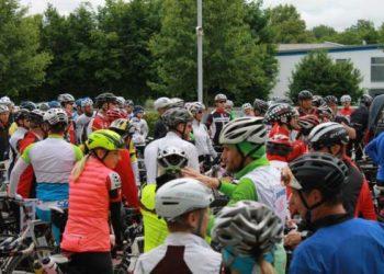 IRONMAN Austria Streckenbesichtigung mit über 100 Athleten 6