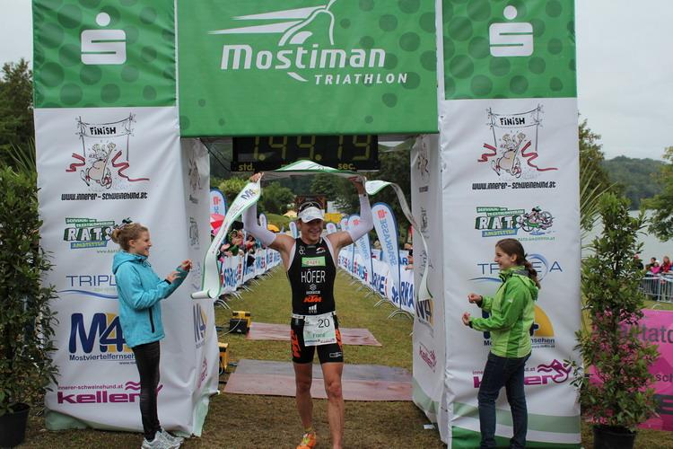 Yvonne van Vlerken auch beim Mostiman am Start 1