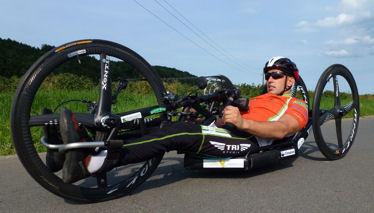 Ironman-Rekordzeit für Paratriathlet Frühwirt 1