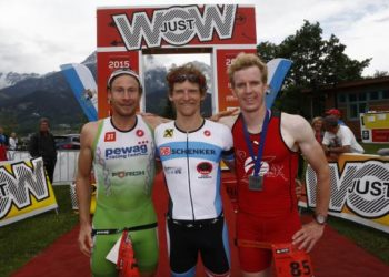 Sieg für Andreas Giglmayer und Lukas Hollaus bei Trimotion 4
