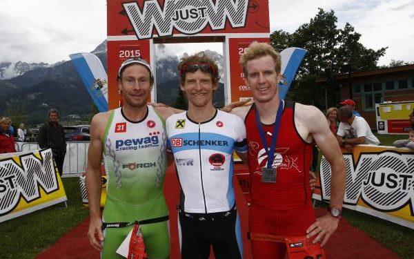 Sieg für Andreas Giglmayer und Lukas Hollaus bei Trimotion 1