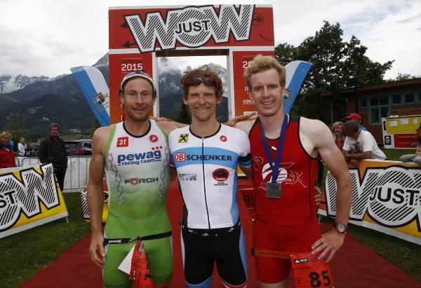 Sieg für Andreas Giglmayer und Lukas Hollaus bei Trimotion 9