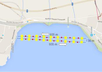 Die Schwimmstrecke des IRONMAN 70.3 Zell am See - Kaprun 4