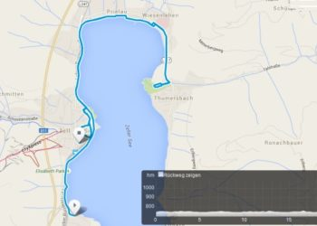 Die Laufstrecke des IRONMAN 70.3 Zell am See - Kaprun 2