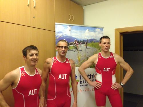Triathlon EM Anprobe in Linz 1