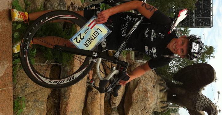 Christoph Leitner mit Platz 11 in Kasachstan 1