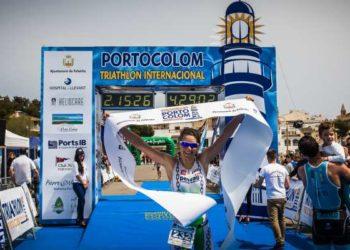 Lisi Gruber gewinnt Triathlon in Portocolom 2