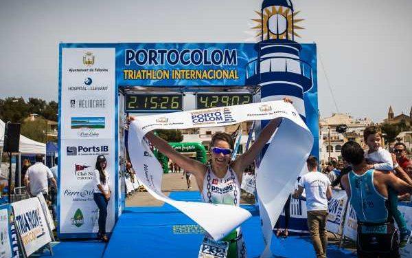 Lisi Gruber gewinnt Triathlon in Portocolom 1