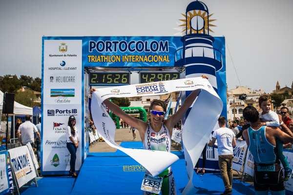 Lisi Gruber gewinnt Triathlon in Portocolom 3