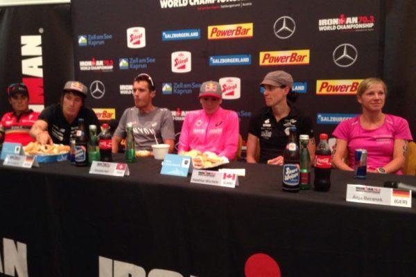 Stimmen der IRONMAN 70.3 Weltmeisterschafts Pressekonferenz 5