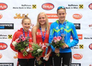 Sensationeller 2. Platz von Sara Skardelly im Junioren Europacup 3