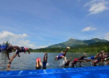 Starterfeld der Staatsmeisterschaften über die Olympische Distanz in Kitzbühel 8