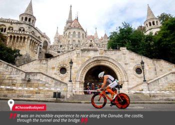 Teste die möglichen IRONMAN 70.3 World Championship Strecken in Budapest 2