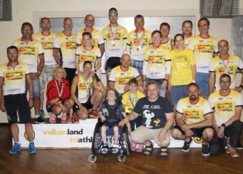 Vulkanlandtriathlon spendet 4.000 Euro für Gehhilfe 1