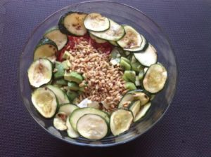 Kiwi - Avocado Salat für Feinspitze 8