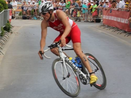 Triathlon Weltcup mit Ausscheidungsrennen in Ungarn 1