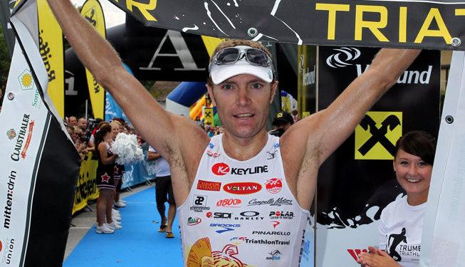 Zahlreiche Prominenz beim Trumer Triathlon 1