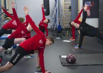Skinfit unterstützt Vorarlberger Nachwuchs Athleten im Training 2
