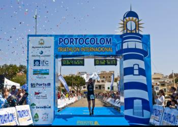pewag racing team startet bei Triathlon Portocolom 3