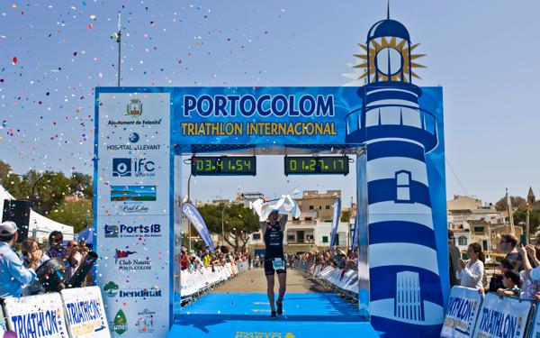 pewag racing team startet bei Triathlon Portocolom 1
