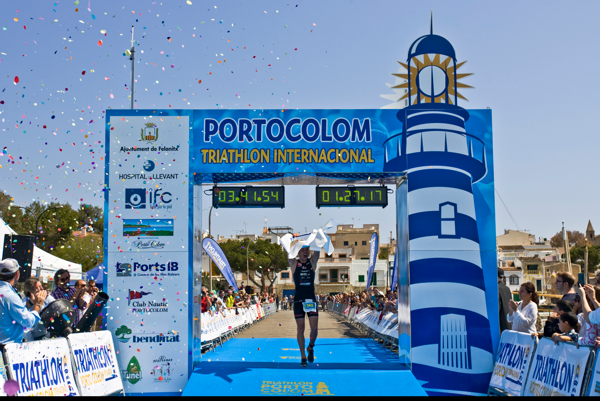 pewag racing team startet bei Triathlon Portocolom 5
