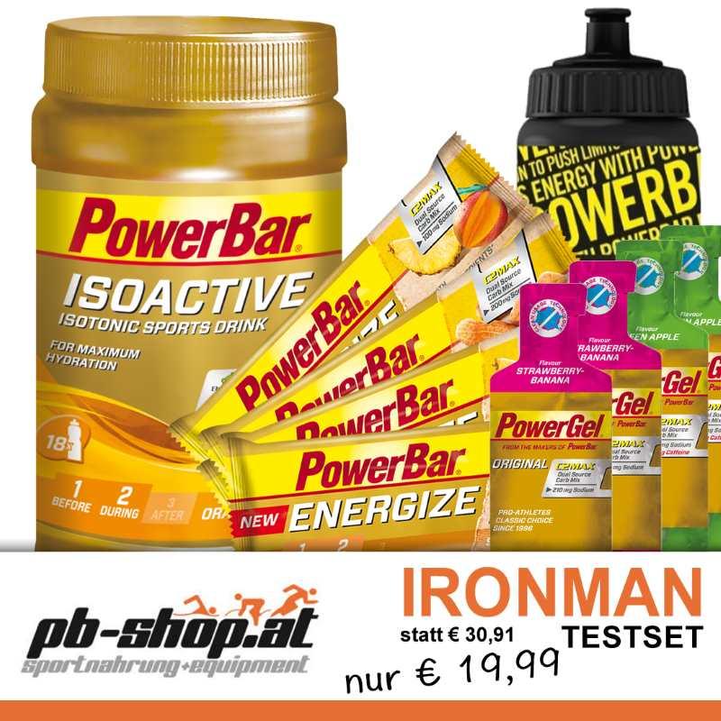 Powerbar Testpaket für den IRONMAN Austria-Kärnten 1