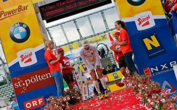 Yvonne Van Vlerken startet beim IRONMAN 70.3 St. Pölten 1