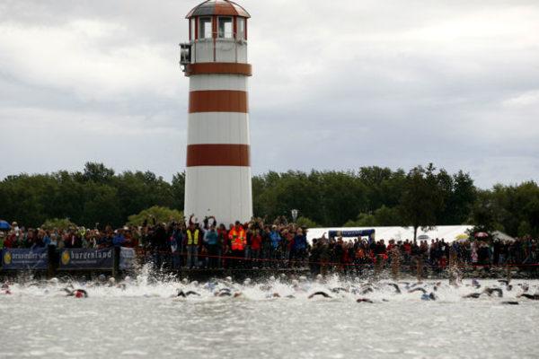 Podersdorf Triathlon mit Charity Triathlon 7