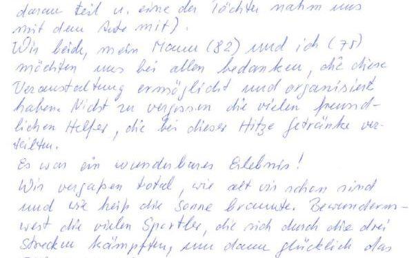 Positives Feedback zu den IRONMAN 70.3 Weltmeisterschaften in Zell am See -Kaprun 1