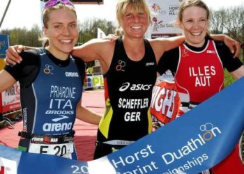 Duathlon Europameisterschaft Bronze für Sandrina Illes 3