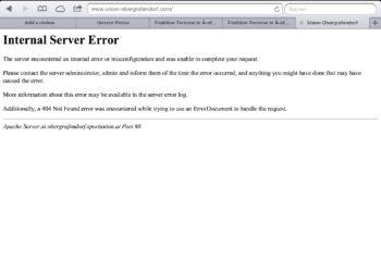 update: Ober Grafendorf Anmeldungen zwangen Server in die Knie 3