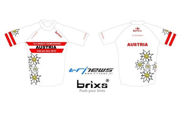 Exklusiv: Team Austria Shirt bei den IRONMAN 70.3 Weltmeisterschaften in Zell am See 1