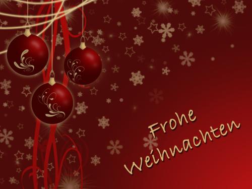 Frohe Weihnachten und einen guten Rutsch 1